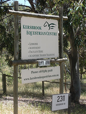 Welcome to Kersbrook Equestrian Centre